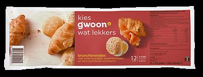 g'woon brunchbroodjes 12 stuks