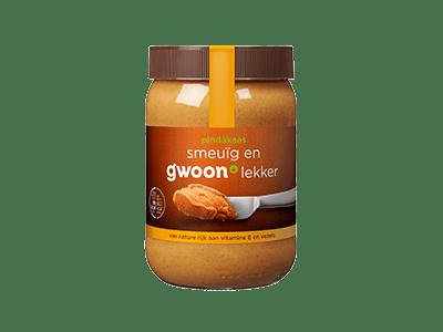 g'woon pindakaas 600 gram