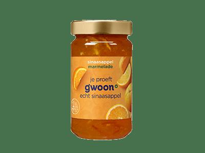 g'woon sinaasappelmarmelade 400 gram