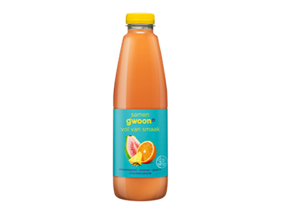 g'woon ananas-guave drank 1 liter