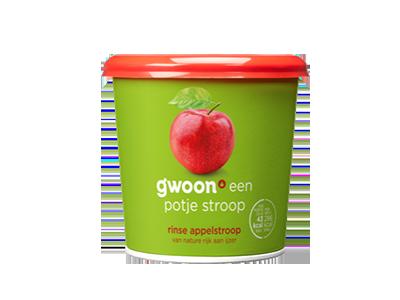 g'woon Rinse appelstroop 450 gram