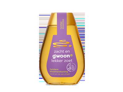 g'woon heldere bloemenhoning 350 gram