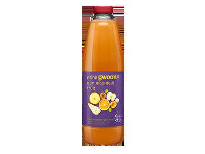 g'woon multivitamine drank geel fruit 1,5 liter