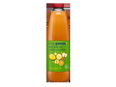 g'woon multivruchtendrank mild 1,5 liter