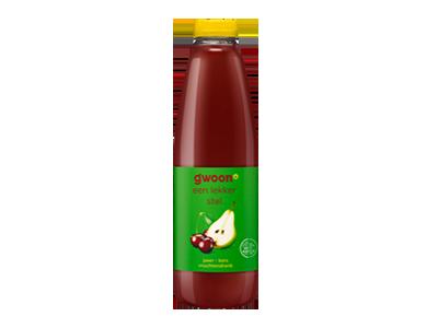 g'woon peer-kers drank 1 liter