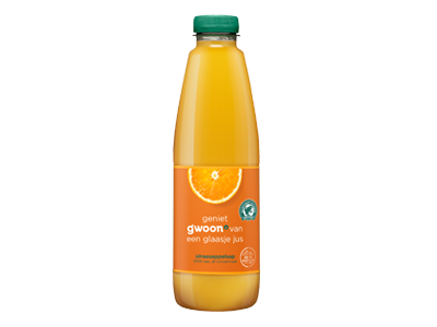g'woon sinaasappelsap 1 liter