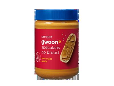 g'woon speculaas pasta 400 gram