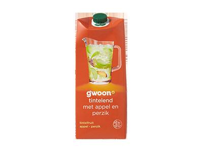 g'woon tintelfruit appel - perzik 1,5 liter