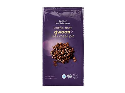 g'woon koffiebonen dark 1000 gram