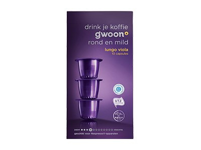 g'woon lungo capsules viola 10 stuks
