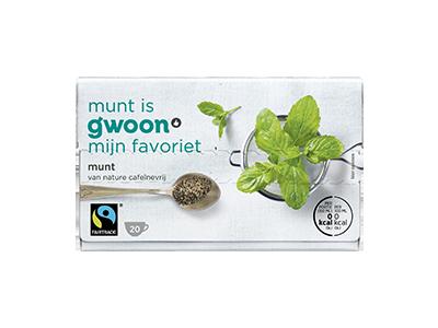 g'woon munt 20 x 1,5 gram