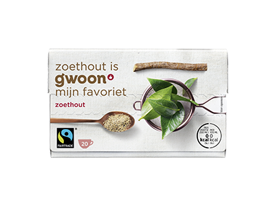 g'woon zoethout 20 x 2 gram