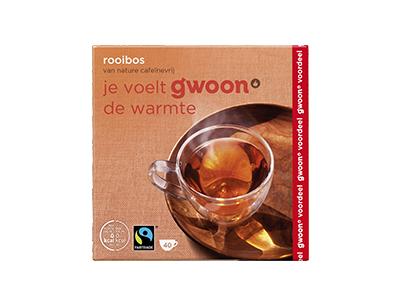 g'woon rooibos 40 x 1,5 gram