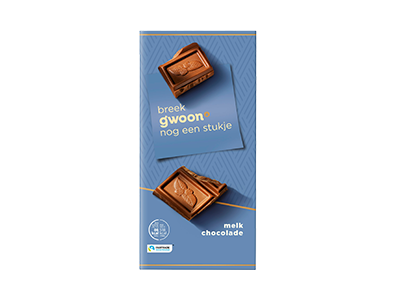 g'woon melk chocolade tablet 200 gram
