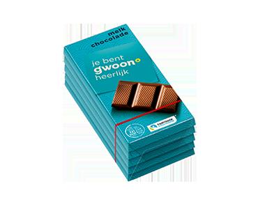 g'woon melk chocolade multi pack 5 x 40 gram