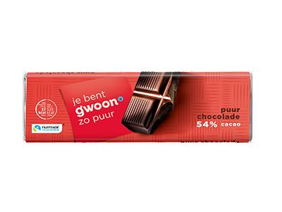 g'woon puur chocolade reep 100 gram