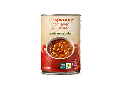 g'woon rundvlees goulash 400 gram