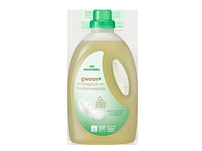 g'woon vloeibaar wasmiddel eco & huidvriendelijk wit 1,350 liter