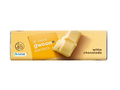 g'woon witte chocolade reep 100 gram
