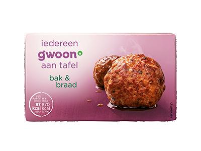 g'woon bak & braad 200 gram