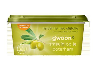 g'woon halvarine met olijfolie 500 gram