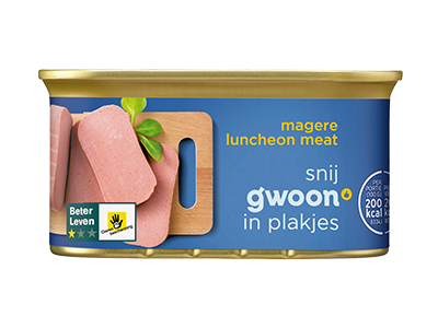 g'woon luncheon meat mager 200 gram