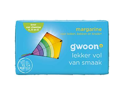 g'woon margarine klein 250 gram