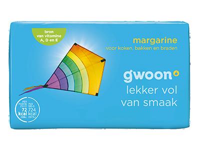g'woon margarine 500 gram