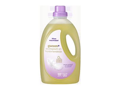 g'woon vloeibaar wasmiddel eco & huidvriendelijk kleur 1,350 liter
