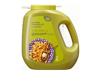 g'woon vloeibaar frituurvet olijf 2 liter