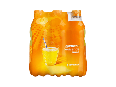 g'woon sinas 6 pack 6 x 500 ml