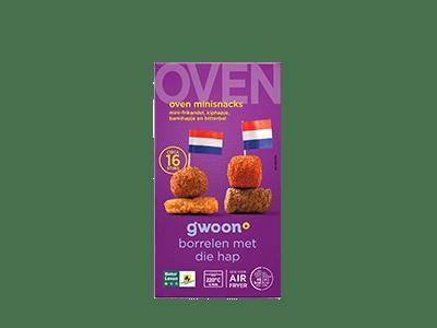g'woon oven mini snacks 16 stuks