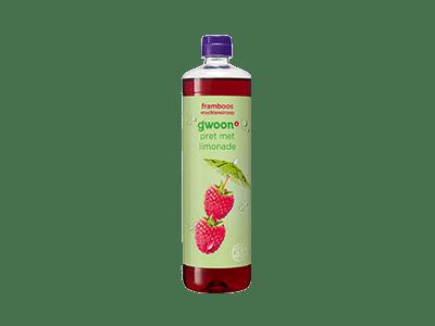g'woon framboos vruchtensiroop 750 ml