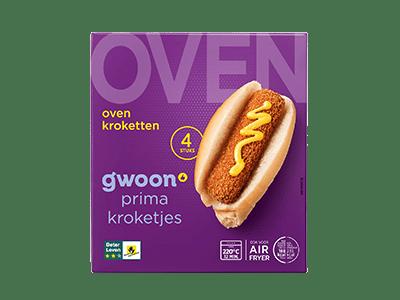 g'woon oven kroketten 4 stuks