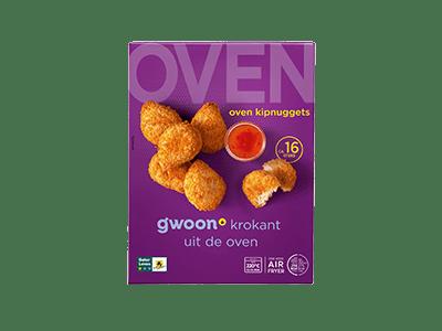 g'woon oven kipnuggets circa 16 stuks