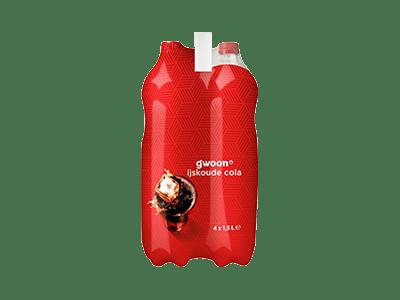 g'woon cola 4 pack 4 x 1,5 liter