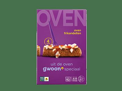 g'woon oven frikandellen 4 stuks