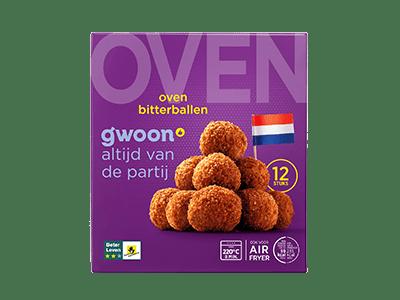 g'woon oven bitterballen 12 stuks