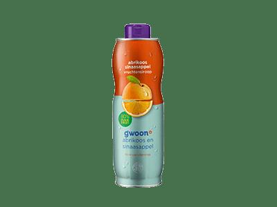 g'woon abrikoos sinaasappel vruchtensiroop 750 ml