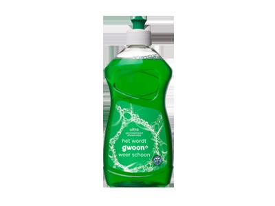 g'woon afwasmiddel ultra 500 ml