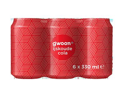 g'woon cola 6 pack 6 x 330 ml