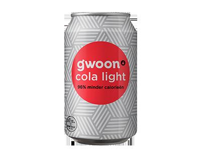 g'woon cola light 330 ml