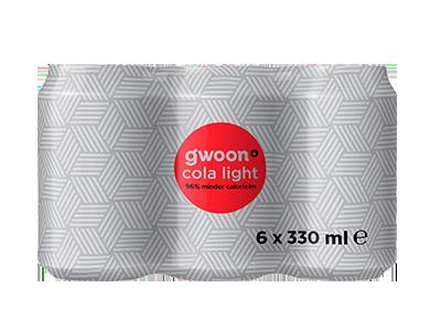 g'woon cola light 6 pack 6 x 330 ml