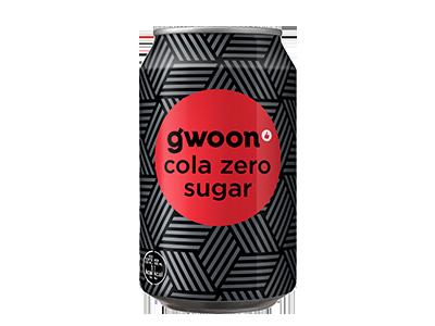 g'woon cola zero sugar 330 ml