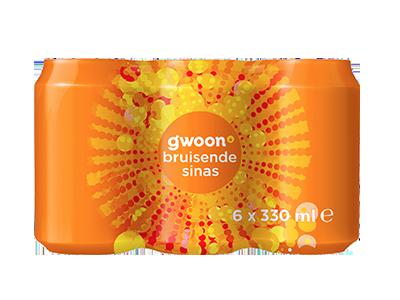 g'woon sinas 6 pack 6 x 330 ml