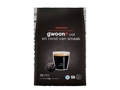 g'woon espresso 16 capsules