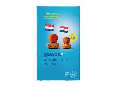 g'woon mini snacks 36 stuks