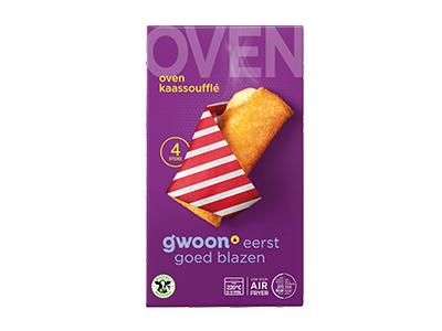 g'woon oven kaassoufflés 4 stuks