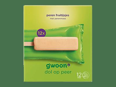 g'woon peren fruitijsjes 12 stuks