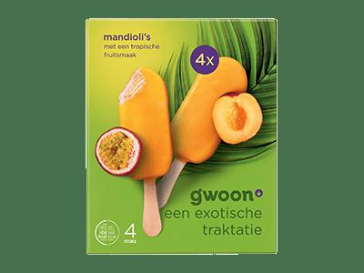 g'woon mandioli's 4 stuks